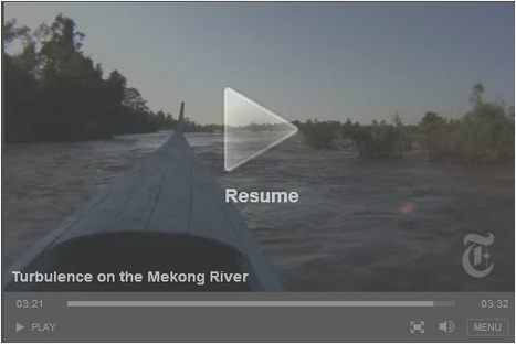 Turbulence on the Mekong River | Classwork Portfolio | Scoop.it