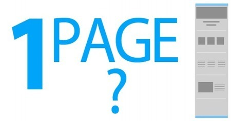 Important Things to Keep in a Single Page Web Design   Website Development   Scoop.it
