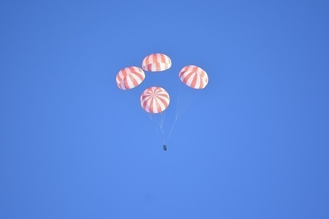 SpaceX Tests Crew Dragon Parachutes at Parabolic Arc | New Space | Scoop.it