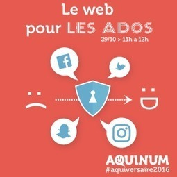 #Sécurité: #Aquiversaire2016 (@aquinum) J'interviens avec @hdesliens le 29/10/2016 à la conf Le web pour les ados | #Security #InfoSec #CyberSecurity #Sécurité #CyberSécurité #CyberDefence & #DevOps #DevSecOps | Scoop.it