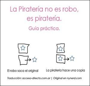 Diferencias entre piratería y robo [Casual Friday] | La pirateria cinematografica | Scoop.it