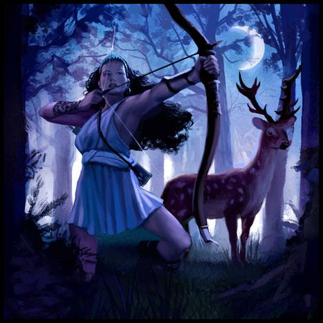 Roman Goddess  Diana | Mitologia | Scoop.it