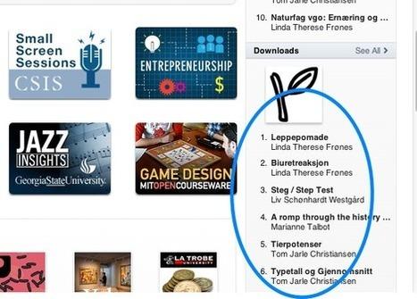 gjemmesiden: Gratulerer med iTunes U, Telemark! | Skolebibliotek | Scoop.it
