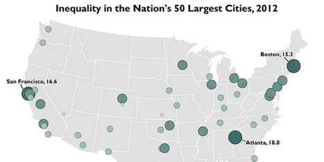 Income Inequality Is Even Worse In Big Cities: Study | Building Beats | Scoop.it