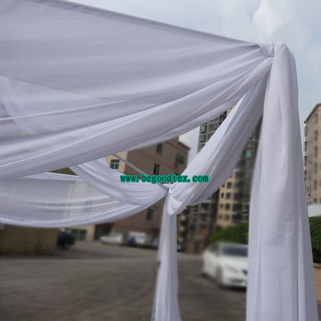 permanent fire flame retardant fabric for weeding and stage | pipe and drape | Scoop.it
