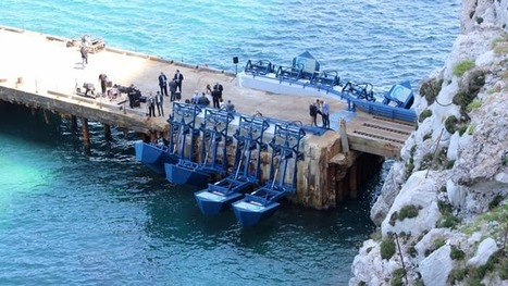Gibraltar's landmark wave power station opens for business | Jeff Morris | Scoop.it