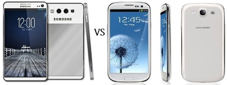 Comparison : Samsung Galaxy S 4 (rumored) or Samsung Galaxy S 3 -Samsung Galaxy S 4 | Samsung Galaxy S IV | Scoop.it