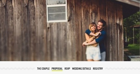 27 Wedding Website Examples for You to Get Inspired! | Design | Scoop.it