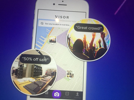 Visor Lets You Look Through Other's Eyes | Creatvity, Entrepreneurship and Innovation | Scoop.it