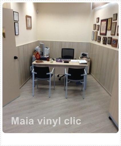 Instalacion de tarima flotante sintetica Maia vinyl Clic -Blog de decoracion | Guellcom Creative Solutions | Scoop.it
