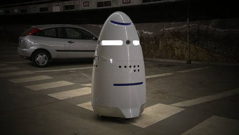 5-foot-tall 'Robocops' start patrolling Silicon Valley | criminology and economic-theory | Scoop.it