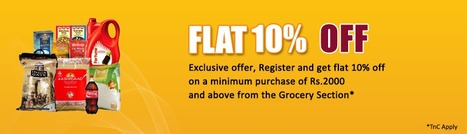 Smart Shopping Center - The advantages you get by purchasing your groceries via internet. | Online Shopping in India | Scoop.it