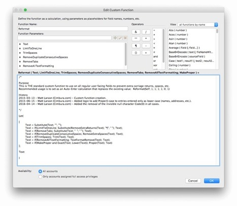 Enhancing the FileMaker Paste Command - Cimbura.com | Filemaker Info | Scoop.it