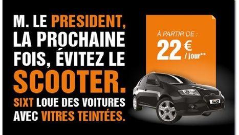 Sixt surfe sur l'affaire Hollande-Gayet   Marketing   Scoop.it