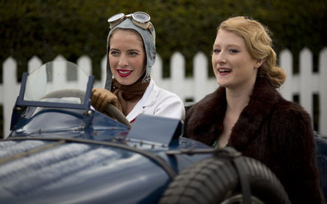 Britain's best vintage festivals: Goodwood Revival and more - Telegraph   Vintage  Of Times Gone By...   Scoop.it