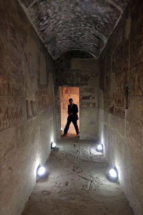 Egipto reabre las tumbas del sacerdote de Keops y de su hijo   Egiptología   Scoop.it