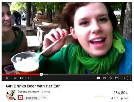 Girl SUCKS ENTIRE BEER through her EARDRUM! | Gay-People-Things | Make Video Blogs & Make Money! | Scoop.it