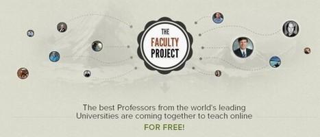 Profesores de todo el mundo ofrecen cursos gratis en The Faculty Project | Creatividad en la Escuela | Scoop.it