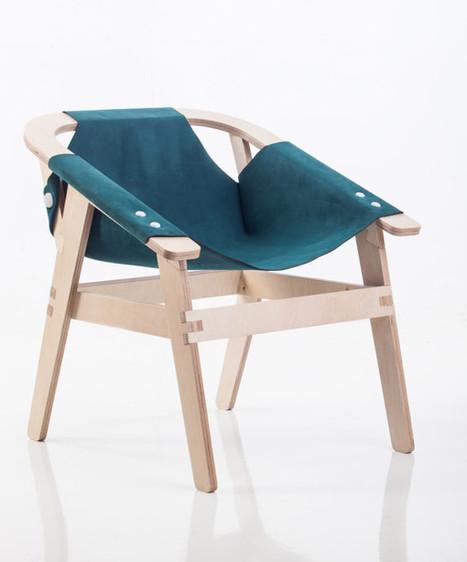 Un fauteuil open source qui mêle impression 3D, découpe laser et usinage numérique | inoow design lab | Scoop.it