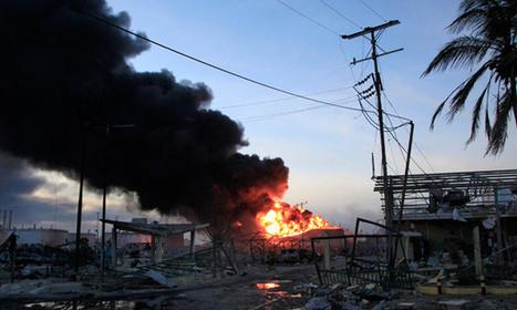 Venezuela minister claims sabotage was behind oil blast - The Guardian | SecureOil | Scoop.it