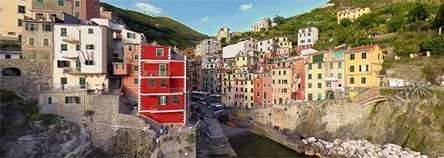 360 video, Cinque Terre, Italy-360 Degree Aerial Panorama   Just like every drop of rain...   Scoop.it