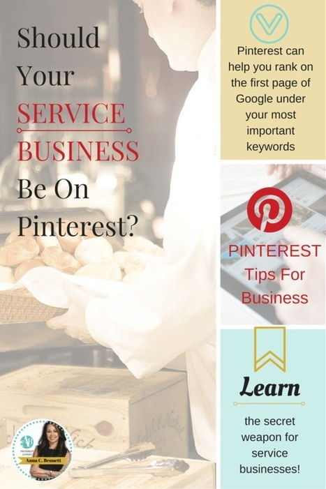 How Service Businesses Can Rank Higher On Google Using Pinterest | Pinterest | Scoop.it