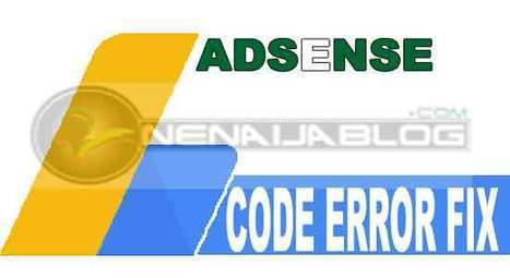 How to Fix Google AdSense Code Error on BlogSpot Blog | Computer technology and blogging | Scoop.it