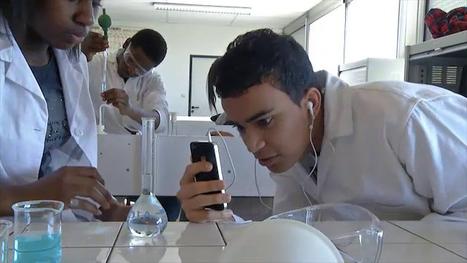 L'Agence nationale des Usages des TICE - Réalisation de tutoriels vidéo en physique-chimie à l'aide de smartphones   Temps et espaces scolaires   Scoop.it