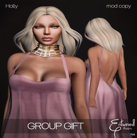 Holly Hair Fatpack Group Gift by Entwined | Teleport Hub - Second Life Freebies | Photographer | Scoop.it