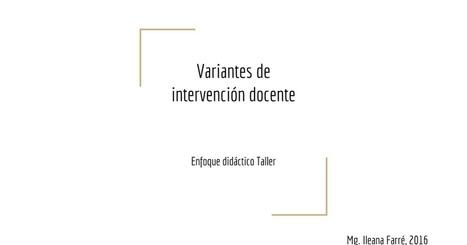 Didactica-estrategiasTaller | Entre profes y recursos. | Scoop.it