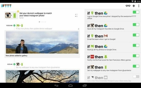 IFTTT automation service is coming to Android, app on its way soon | Technology Resources for Education | Scoop.it