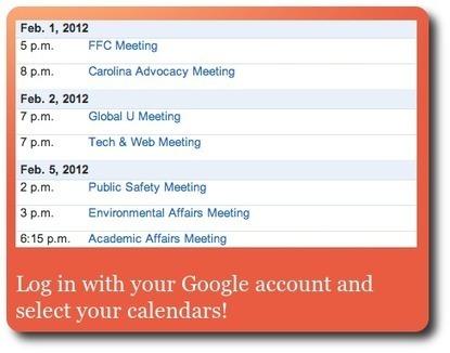 PubMyCal : pour diffuser plus facilement votre agenda Google   Time to Learn   Scoop.it