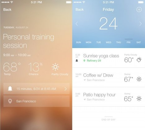 Fresh Air is my new favorite weather app for iPhone | iPhones and iThings | Scoop.it