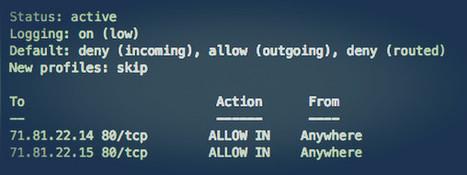 How To: Ubuntu Linux Firewall Open Port Command | Linux Ubuntu & Linux Ubuntu Server | Scoop.it