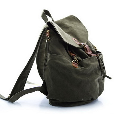 Solid canvas school bags & travel rucksack | Womens fashion | Scoop.it