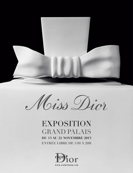 Du 13 au 25 novembre 2013  |  Exposition Miss Dior au Grand Palais | art on the go | Scoop.it