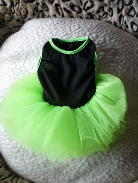 Aliexpress.com : Buy CUTE Fluorescent green LACE black Small Pet Dog Cat puppy Clothes dress size XS S M L from Reliable dress suppliers on puppy home | Dog Fashion | Scoop.it