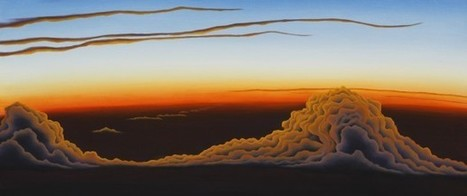 Laura Guese: fine artist specializing in large-scale atmospheric paintings. | Artwork for The Brain | Scoop.it