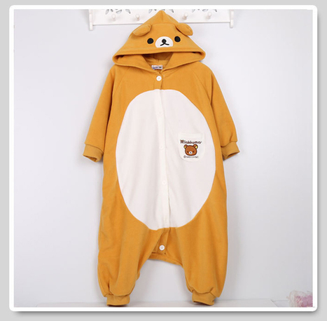children Rilakkuma kigurumi onesie | adult onesies sale-pajama.com | Scoop.it