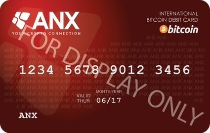 Hong Kong Bitcoin Exchange ANX Issues Bitcoin Debit Card - CryptoCoinsNews | Digital-News on Scoop.it today | Scoop.it