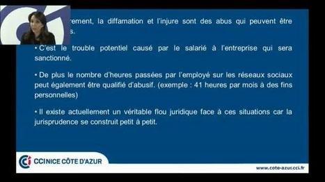 CCI TV Nice Côte d'Azur - Les salariés et les Réseaux Sociaux | News sur les Resaux Sociaux | Scoop.it
