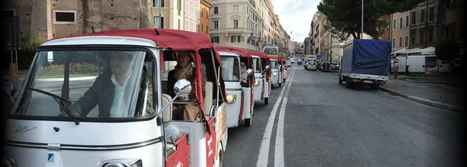 Panoramic Tour of Rome by Ape Calessino | Calessino Parade - collectable Italian style on three wheels | Scoop.it