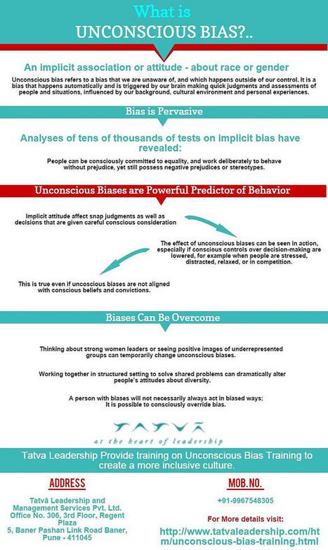unconscious-bias-training | Leadership training Mumbai | Scoop.it