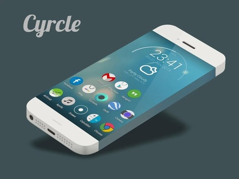 Cyrcle Icon Theme Apex Nova Go v3.1 | ApkLife-Android Apps Games Themes | salah gh | Scoop.it