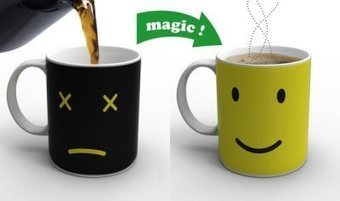 ON/OFF and Monday Coffee Mugs Change Color When A Hot Beverage is Added | Curiosité professionnelle | Scoop.it