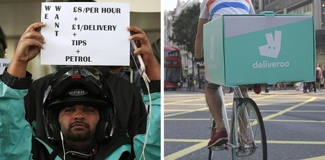 Deliveroo Riders Reveal The Harsh Realities Of The Gig Economy | Rights & Liberties | Scoop.it