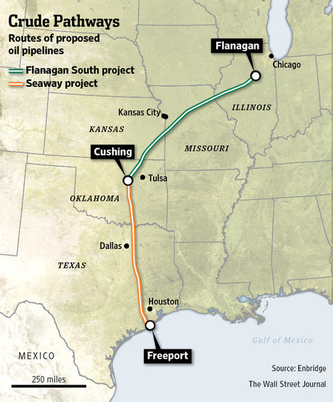 Seaway pipeline sends oil to Texas in historic reversal | Texas Coast Real Estate | Scoop.it