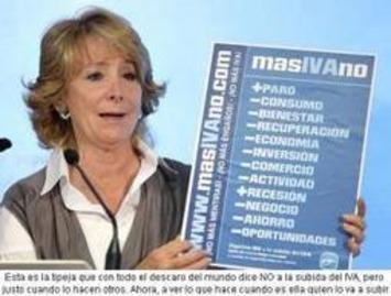 Misterios al descubierto : La desvergüenza de Aguirre | Partido Popular, una visión crítica | Scoop.it