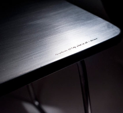 Furniture Shaped By Sound | #Design | Scoop.it
