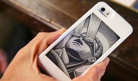 A capa que acrescenta um segundo ecrã ao teu iPhone (sem consumir a bateria!) | Design | Scoop.it